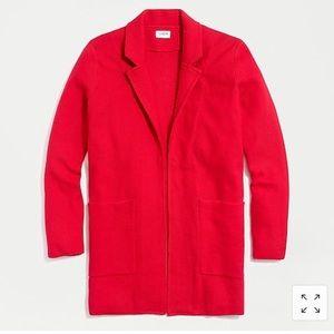 J. CREW FACTORY   Open Front Sweater Blazer